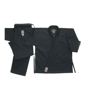Kimono Karaté Noir Lourd