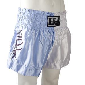 Short Boxe Thaï Bleu / Blanc / Tribal